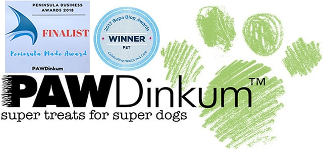 Pawdinkum Bupa Blog Award Winner