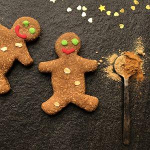 Christmas Doggie Gingerbread Man