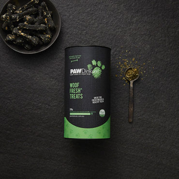 Woof Fresh Dog Treats Canister 220g